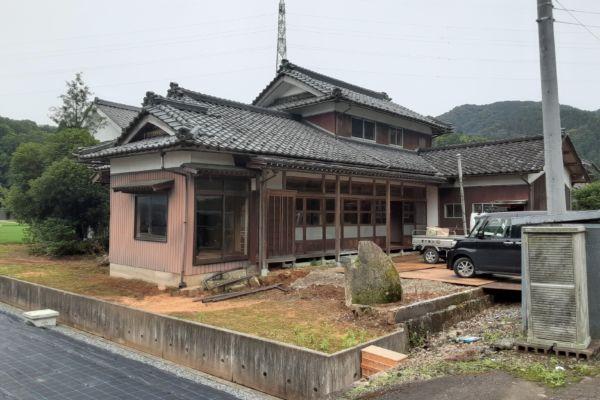 福井県 福井市 木造2階建住宅 解体工事
