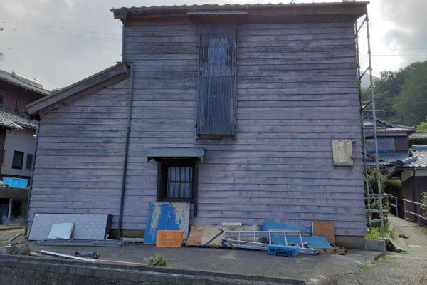 福井県 福井市 木造2階建て蔵 解体工事