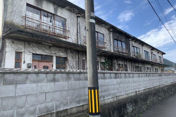 福井県 越前市 RC2階建アパート 解体工事
