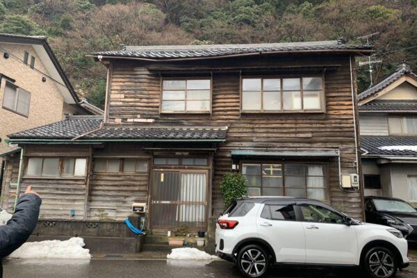 福井市 茱崎町 木造2階建住宅 解体工事