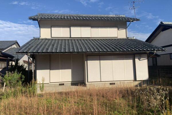 福井県 大野市 木造2階建て家屋 解体工事